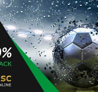 ESC Online 100% Cashback em Jogos Exclusivos.