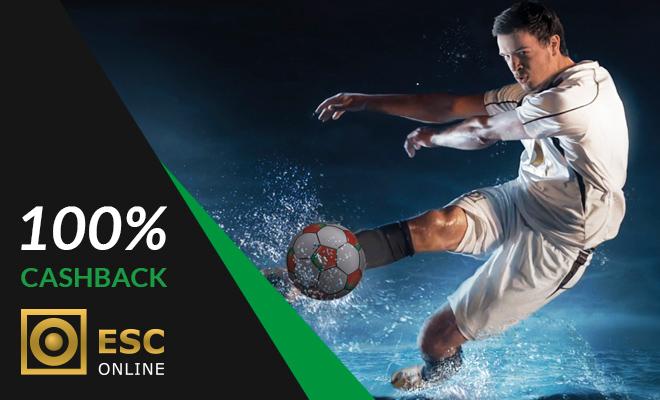 ESC Online 100% Cashback