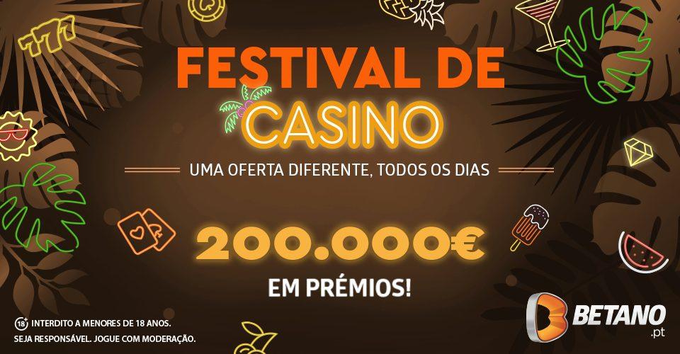 Festival de casino da betano