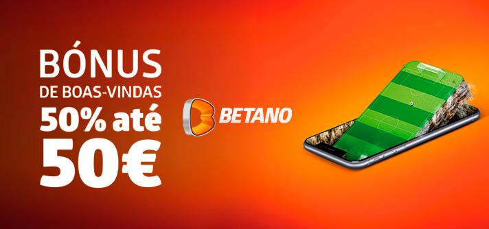Bónus Betano: oferta de boas-vindas