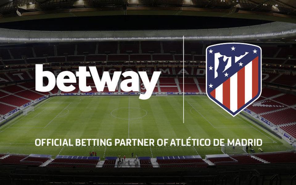 parceria entre betway e atlético de madrid